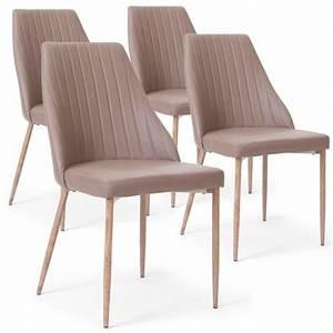 Lot De Chaise Pas Cher : lot 4 chaises pas cher maison design ~ Teatrodelosmanantiales.com Idées de Décoration