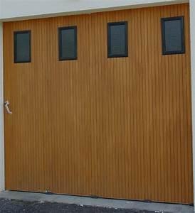 Porte De Garage Bois : portes de garage correze fermetures ~ Melissatoandfro.com Idées de Décoration