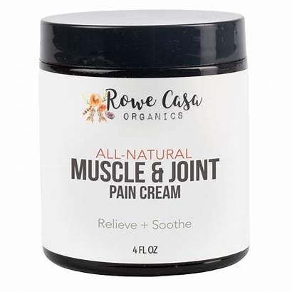 Rowe Casa Organics Pain Muscle Cream Joint