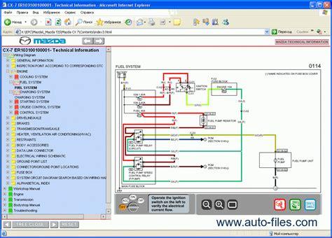 online service manuals 2012 mazda cx 7 free book repair manuals mazda cx 7 repair manuals download wiring diagram electronic parts catalog epc online