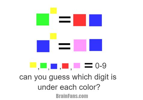 color riddles brain teasers puzzles riddles brainfans