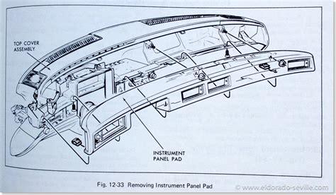 auto manual repair 1996 cadillac eldorado instrument cluster removing and replacing the 1974 cadillac heater core geralds 1958 cadillac eldorado seville