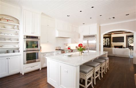 Beadboard Kitchen Ceiling : Kitchen With Beadboard Ceiling