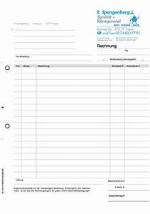 Rechnung Handwerker Muster : rechnungsformular quittungsblock mit durchschlag von orgaset ~ Themetempest.com Abrechnung