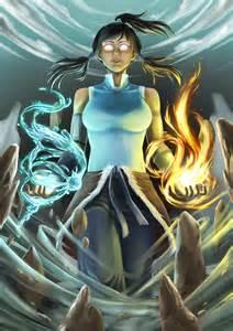 Korra Avatar State Art