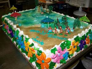 Hawaiian Theme - CakeCentral com