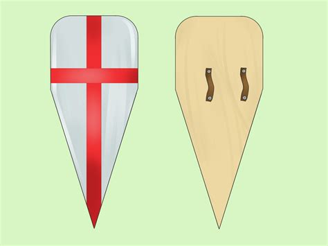 kite shield  steps  pictures wikihow
