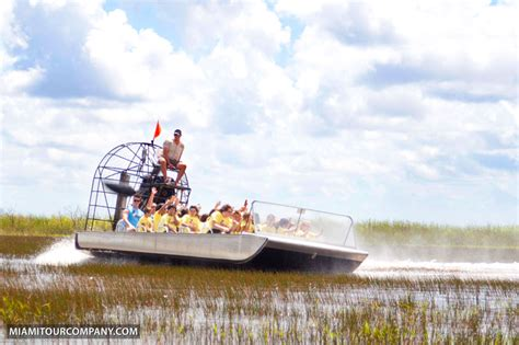 Fast Wine Boat Ride by City Tour Of Miami Airboat Ride