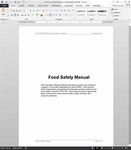 Food Safety Manual
