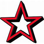 Star Outline Clipart Icon Cartoon Shadow Clipartmag