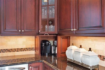 dark cherry kitchen perfection wall  jersey  design