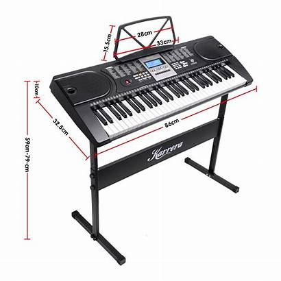 Keyboard Piano Stand Electronic Karrera Teaching Holder