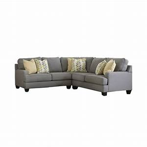Signature design by ashley furniture chamberly 3 piece for 3 piece sectional sofa ashley