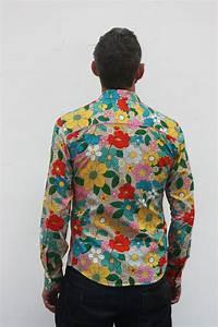 Chemise Homme Motif Original : chemise homme motif fleur parasol ba sap ~ Nature-et-papiers.com Idées de Décoration
