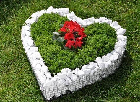 deko garten korb herz deko garten schale grab pflanzen 220 bertopf blumen blumentopf neu ebay