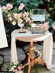 Hochzeitsgstebuch Und Kartenstation Mit Vintage Mbel