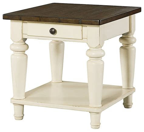 Heartland Rectangular Drawer End Table   Farmhouse   Side Tables And End Tables   by SmartFurniture