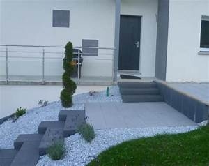 amenagement allee de garage adrien michel paysagiste am With nice jardin en pente amenagement 9 deco jardin allee exemples damenagements