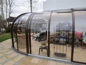 Abri De Terrasse Retractable : abri de terrasse coulissant et veranda retractable ~ Dailycaller-alerts.com Idées de Décoration