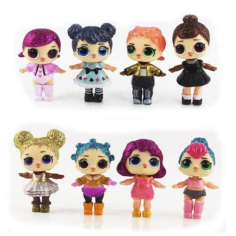 pcsset lol dolls soft doll unpacking high quality dolls