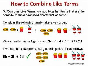 combining like terms - Google Search | 123 MATH...The Only ...