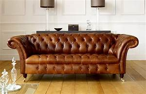 Sofa Vintage Leder : barrington vintage leather sofa leather chesterfield sofas ~ Indierocktalk.com Haus und Dekorationen