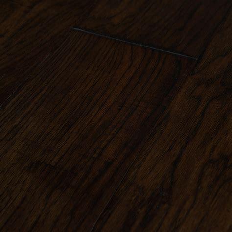 hickory dark brown  engineered hardwood flooring