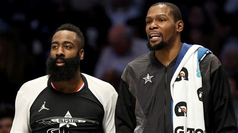 Nets GM: Harden, Durant, Kyrie will sacrifice to make ...