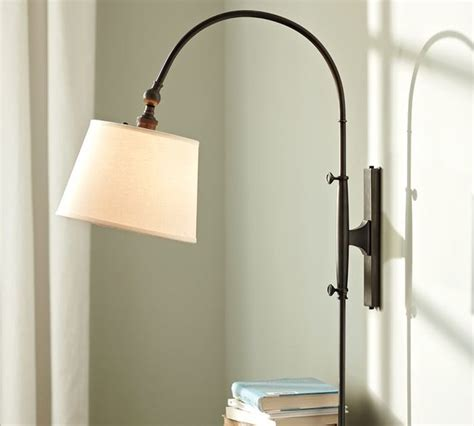 adjustable arc sconce modern swing arm wall ls by