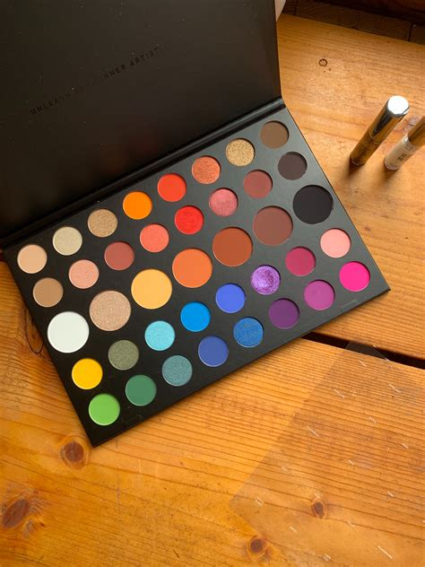 morphe  james charles artistry palette review