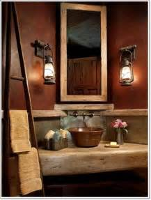 rustic bathroom decorating ideas 42 ideas for the rustic bathroom design