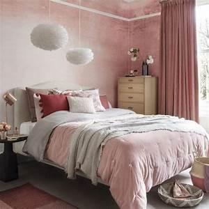 Papier Peint Rose Et Gris : papier peint chambre un guide avec plus de 80 id es pour ~ Dailycaller-alerts.com Idées de Décoration