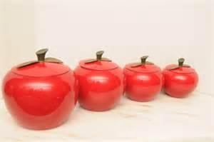 metal kitchen canister sets apple metal kitchen canister set