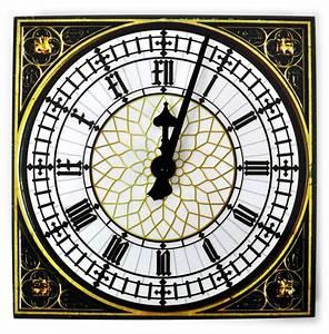 Big Ben Wall Clock Pink Cat Shop