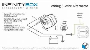 Delco Remy Alternator Wiring Diagram How To Adapt In Gm 3 Wire On