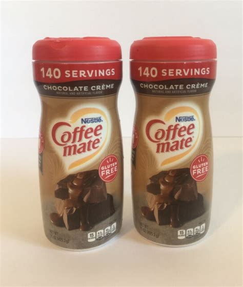 It's creamy and blends into your coffee like real dairy creamer. Coffee Mate Chocolate Creme Non-Dairy Creamer 15 oz Lot of ...