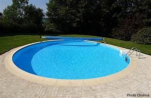 Piscine Bois Ronde : piscine ronde piscine bois semi enterr e installation lesitedegertrude ~ Farleysfitness.com Idées de Décoration
