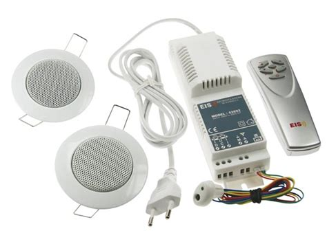 perel radio fm 224 encastrer avec t 233 l 233 commande 2 x 1w