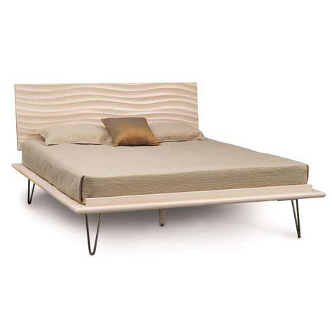 wave platform bed queen size