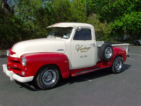 A Homebuilt 1954 Chevy Pickup Inspired By Street Rodder