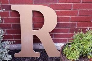 25 unique large wooden letters ideas on pinterest large With large outdoor wooden letters
