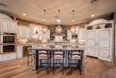 white kitchen wall cabinets 49 brick kitchen design ideas tile backsplash accent