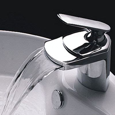 light in the box bathroom faucets contemporary single handle waterfall bathroom vanity