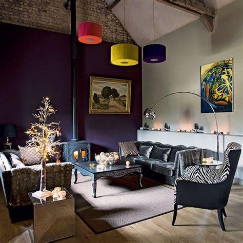 plum sofa decorating ideas purple and grey living room furniture living room