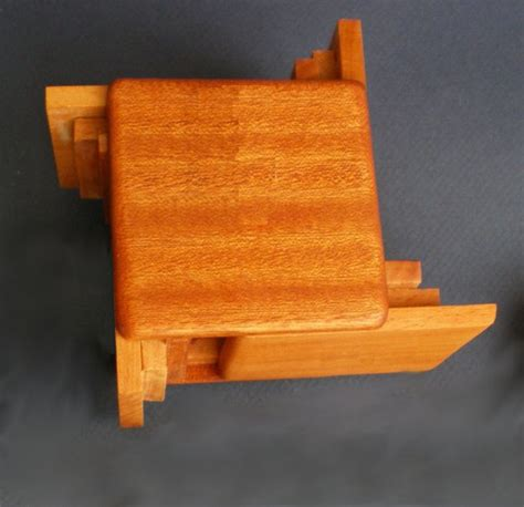 japanese puzzle box wood puzzle box