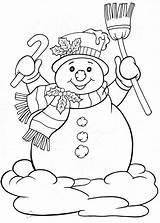 Coloring Pinscher Miniature Snowman sketch template