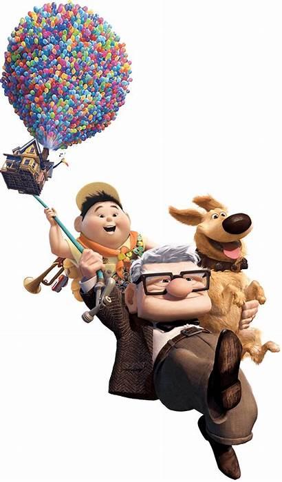 Pixar Carl Fredricksen Transparent Clipart Dvd Movies
