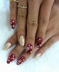Deco Ongle Noel : d coration ongles gel noel ~ Melissatoandfro.com Idées de Décoration