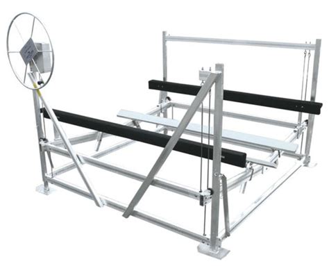 Boat Lift Prices Ontario ontario vertical aluminum boat lift made by bertrand