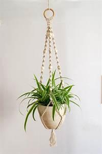 Usine de macramé cintre / porte plante / hangar / Home Decor